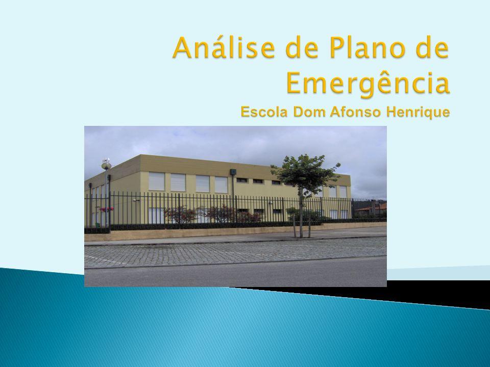 Análise de Plano de Emergência Escola Dom Afonso Henrique