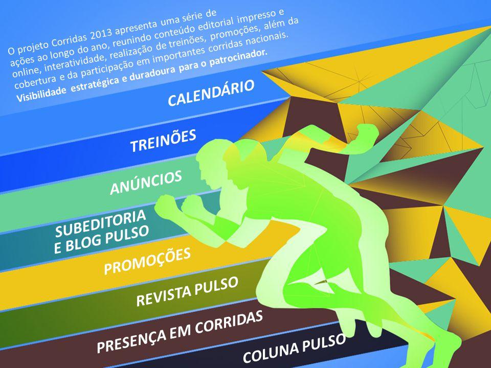 CALENDÁRIO TREINÕES ANÚNCIOS SUBEDITORIA E BLOG PULSO PROMOÇÕES
