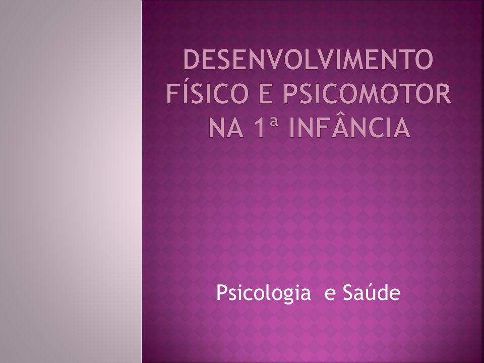 dESENVOLVIMENTO FÍSICO E PSICOMOTOR NA 1ª INFÂNCIA