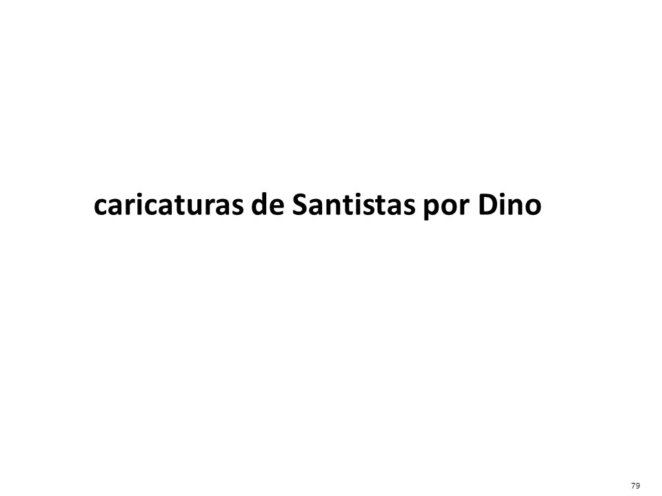 caricaturas de Santistas por Dino