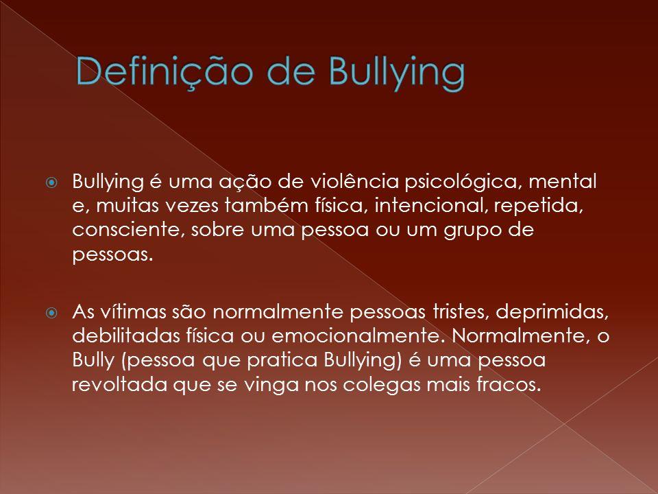 Definição de Bullying