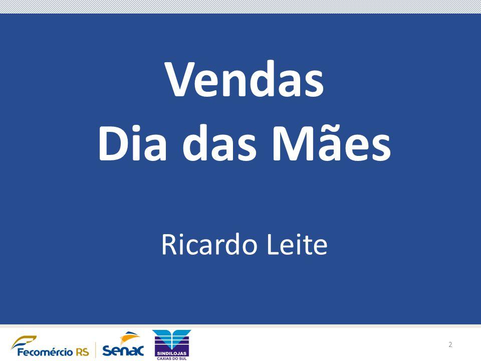 Vendas Dia das Mães Ricardo Leite