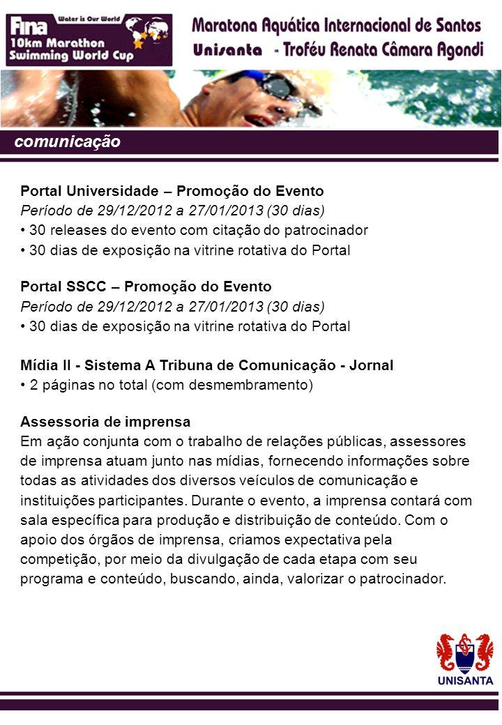 comunicação Portal Universidade – Promoção do Evento