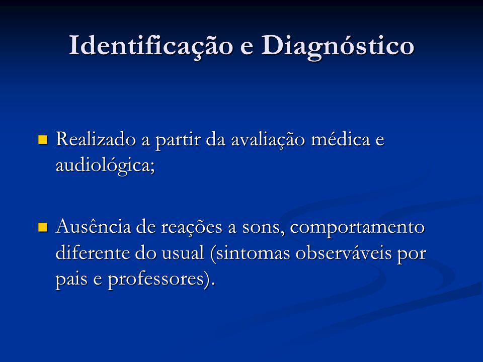 Identificação e Diagnóstico