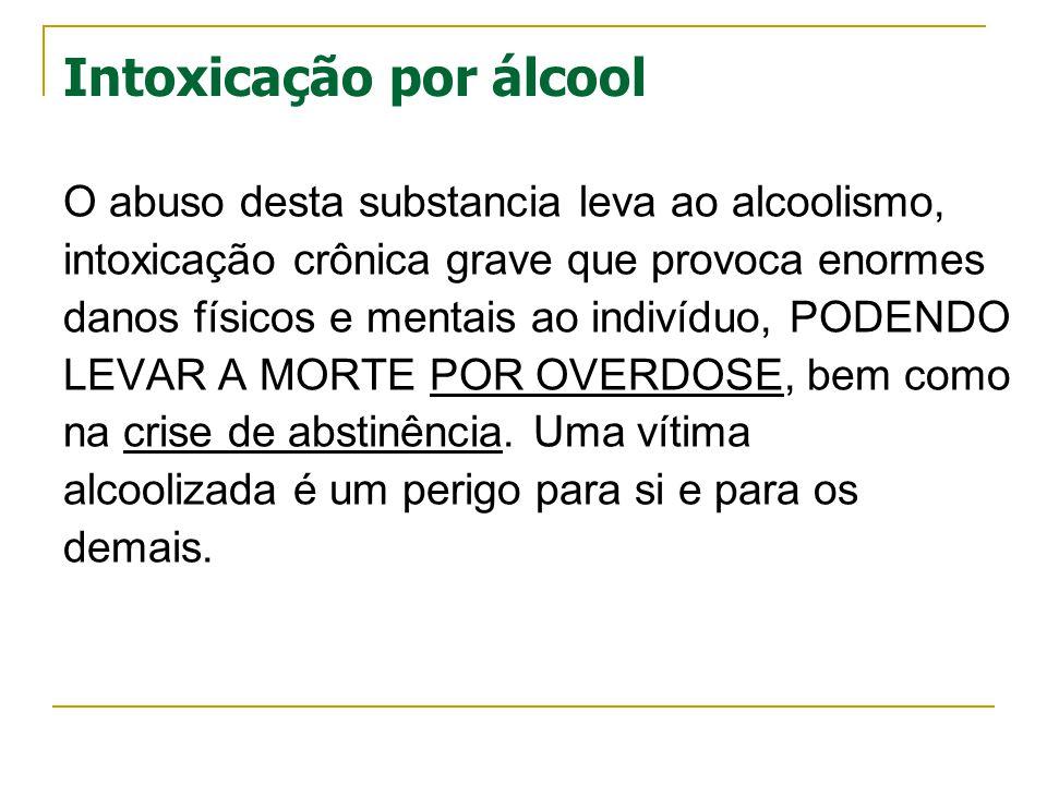 Intoxicação por álcool