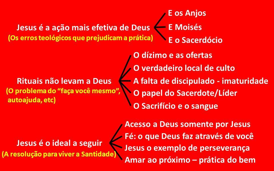 Jesus é a ação mais efetiva de Deus E Moisés E o Sacerdócio
