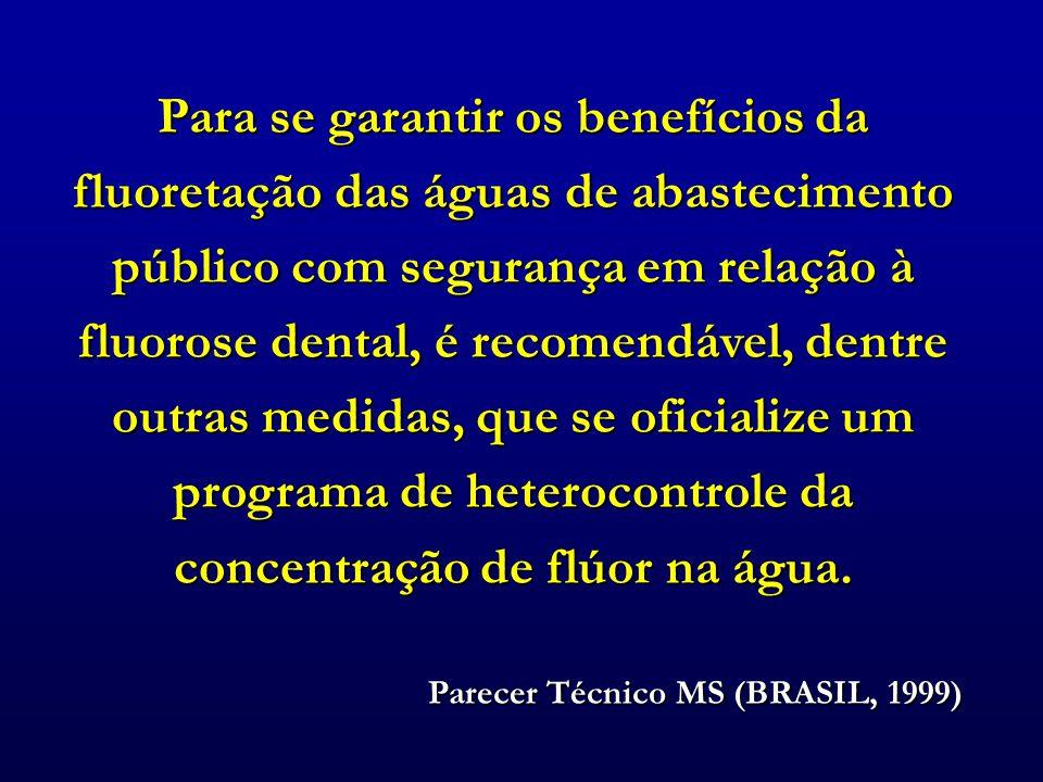 Parecer Técnico MS (BRASIL, 1999)