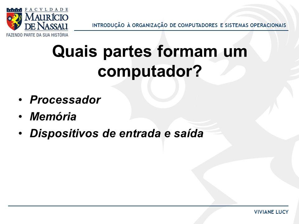 Quais partes formam um computador