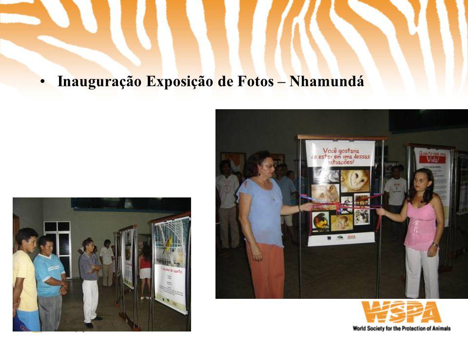 Inauguração Exposição de Fotos – Nhamundá
