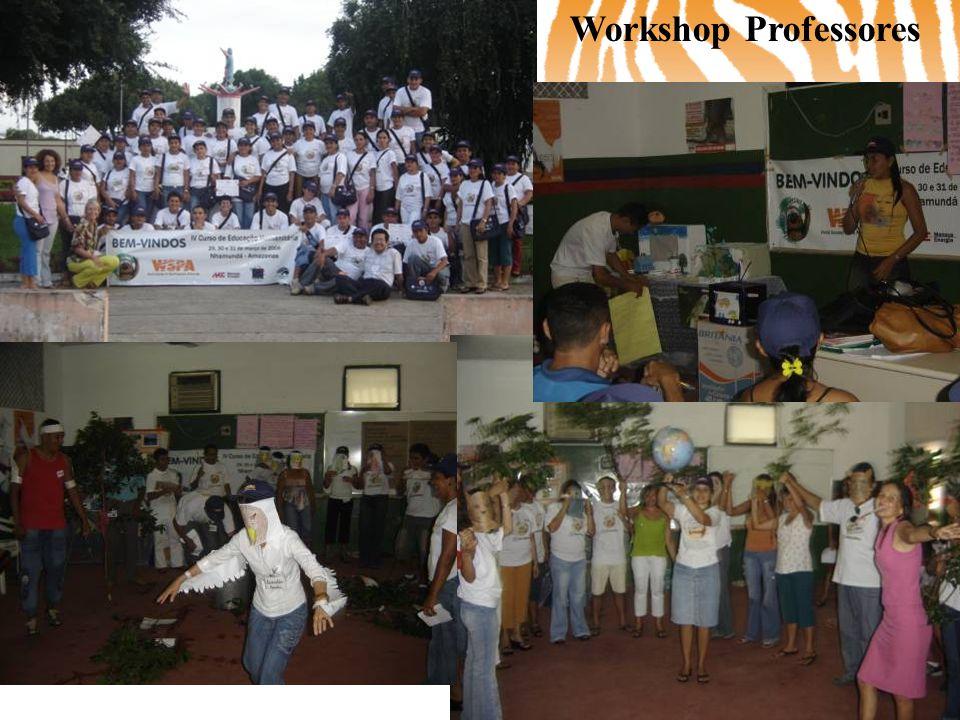 Workshop Professores Curso de Educação Humanitária para Professores – março – Nhamundá