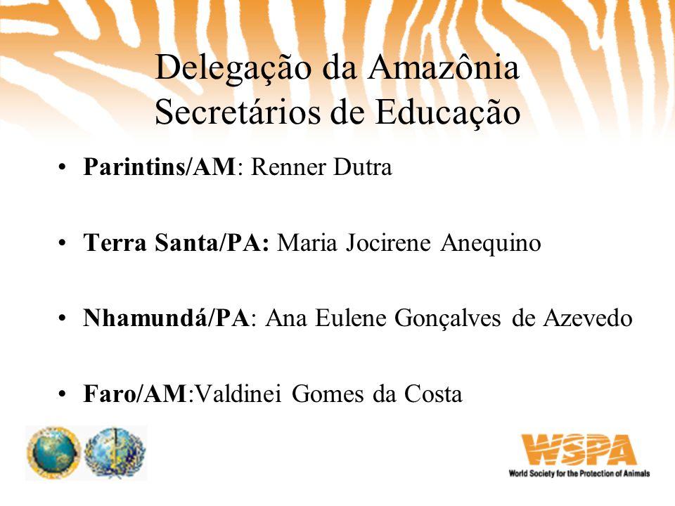 Delegação da Amazônia Secretários de Educação