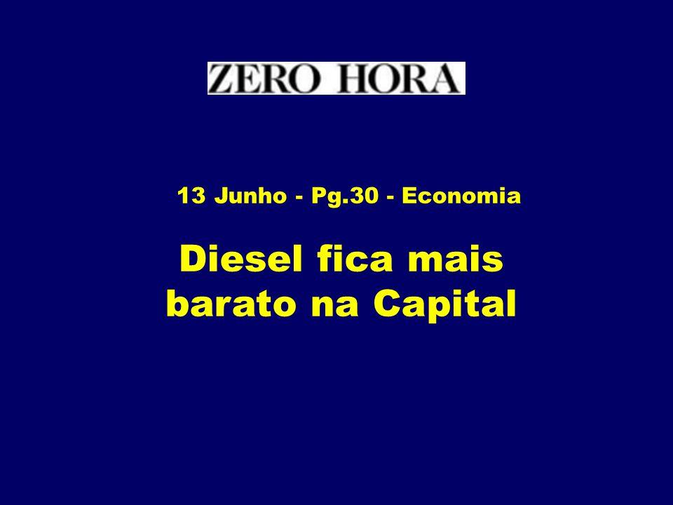 Diesel fica mais barato na Capital