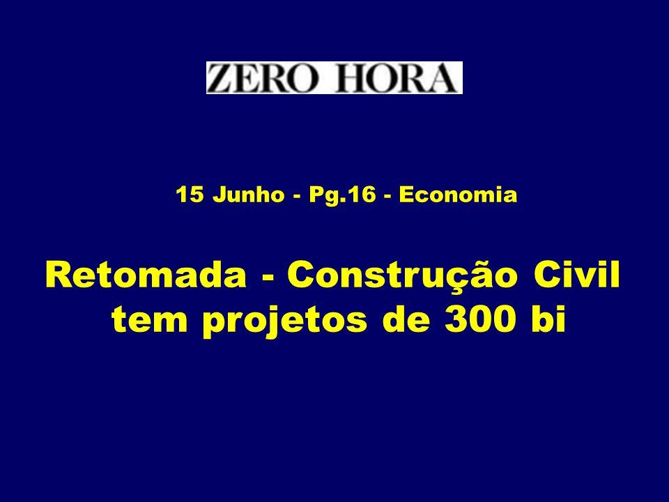 Retomada - Construção Civil