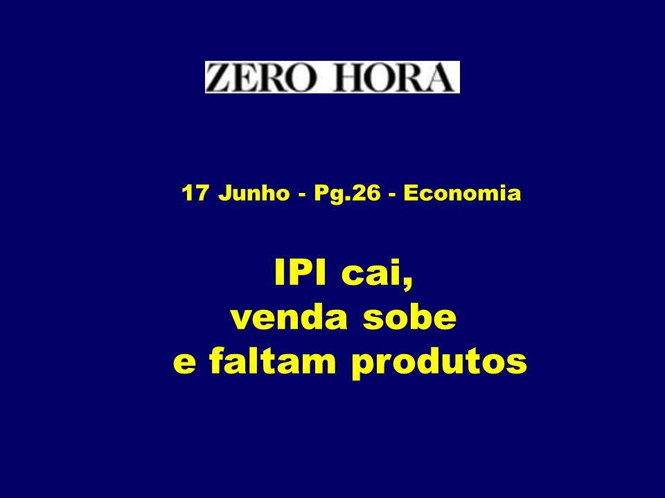 IPI cai, venda sobe e faltam produtos