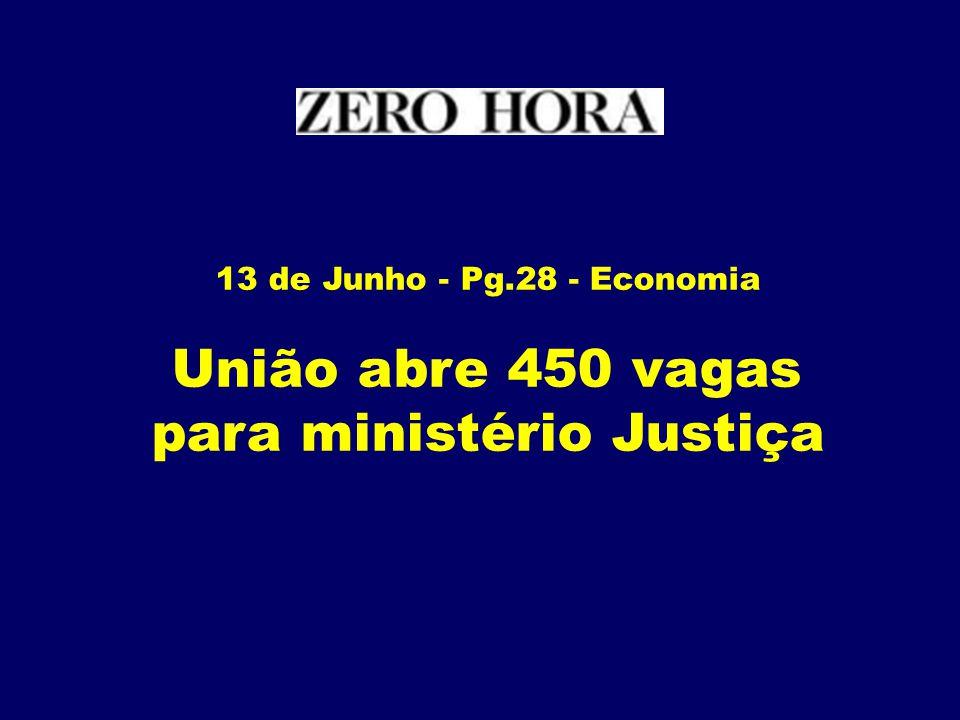 para ministério Justiça