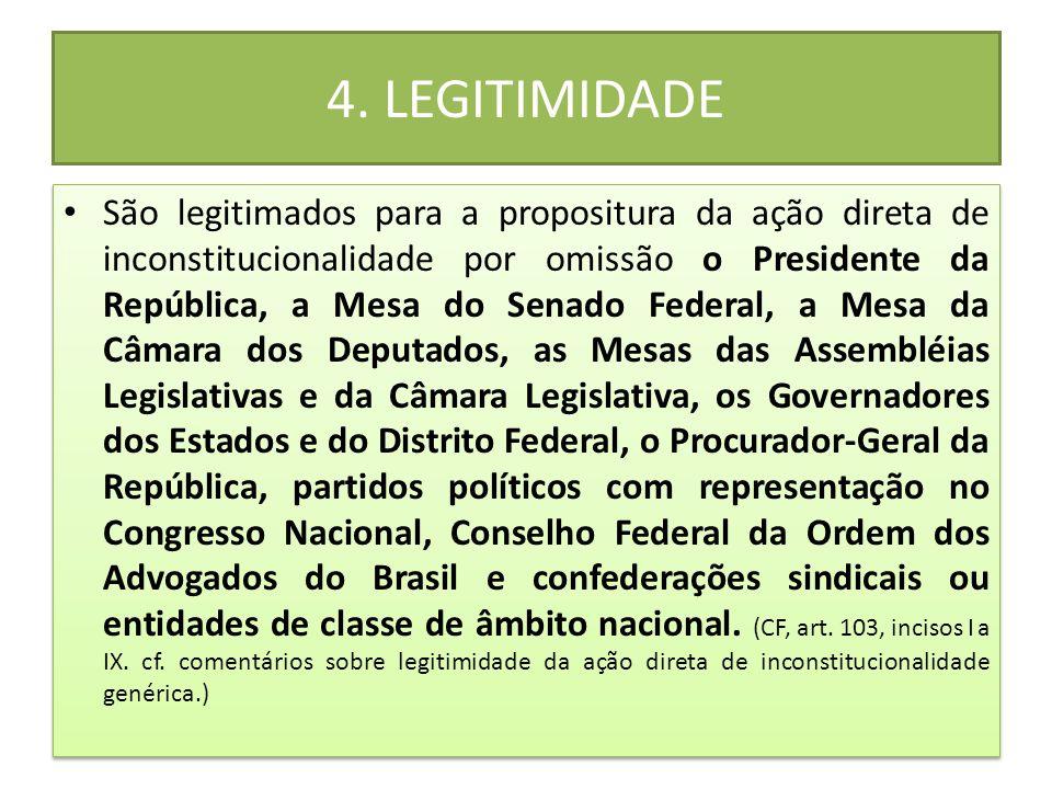4. LEGITIMIDADE