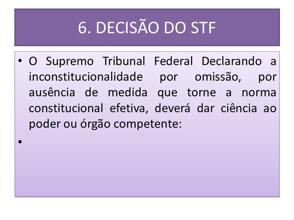 6. DECISÃO DO STF