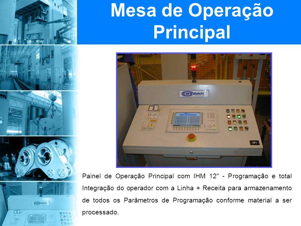 Mesa de Operação Principal