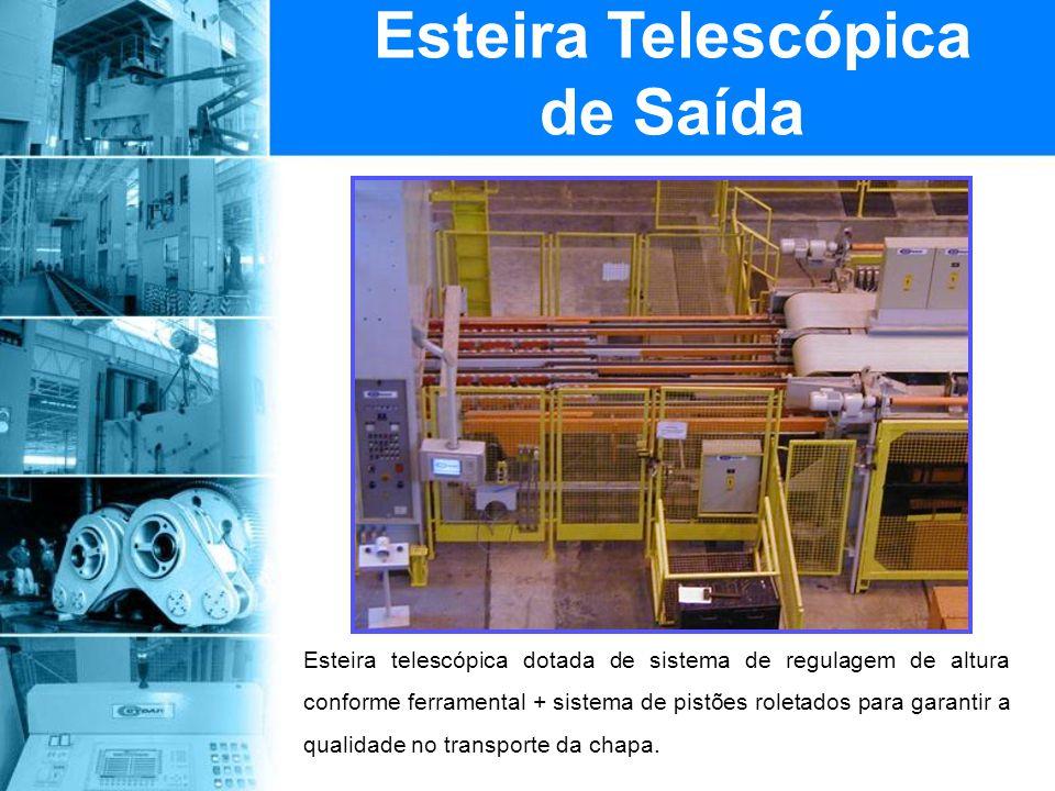 Esteira Telescópica de Saída
