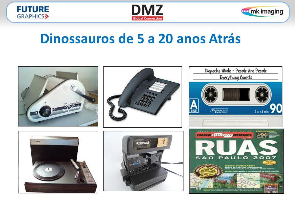 Dinossauros de 5 a 20 anos Atrás