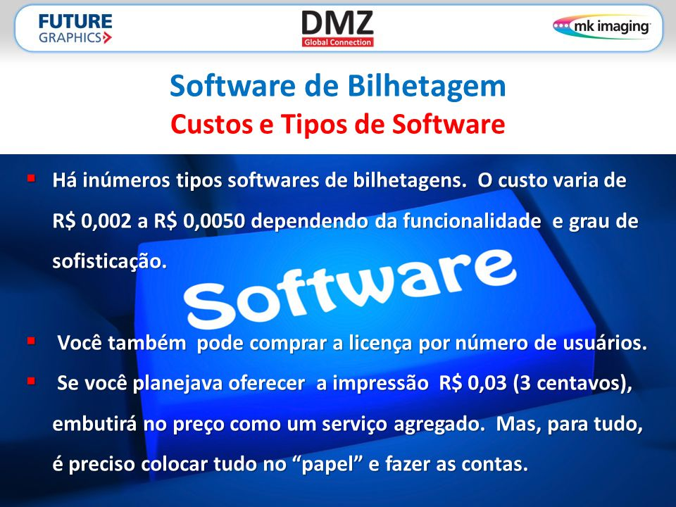 Software de Bilhetagem Custos e Tipos de Software