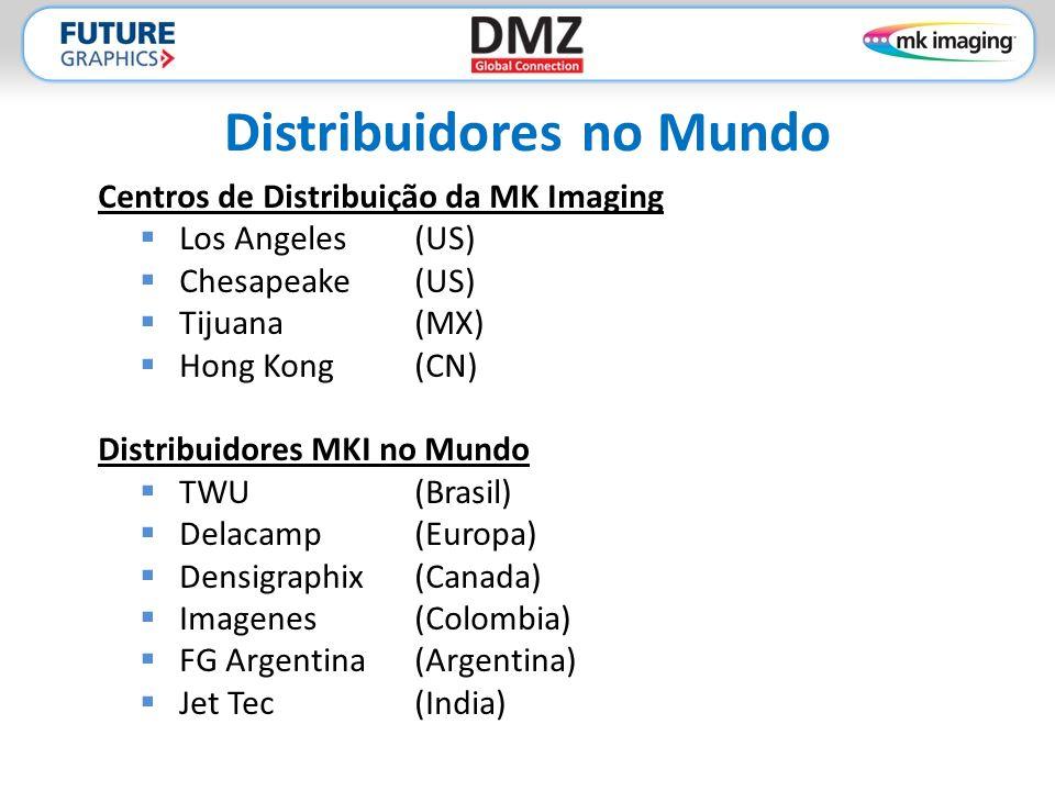 Distribuidores no Mundo