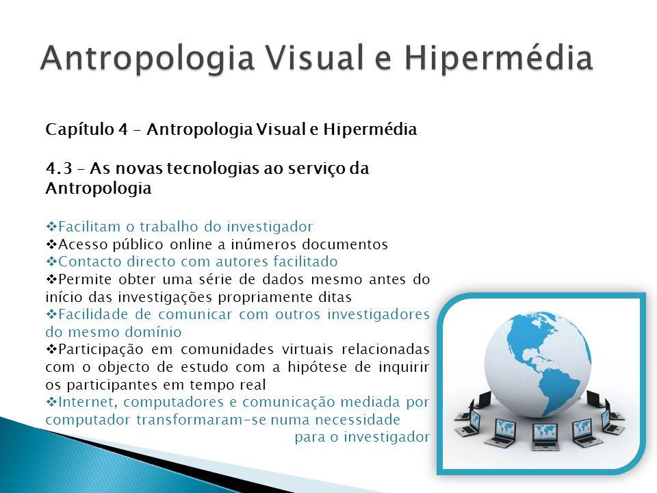 Antropologia Visual e Hipermédia