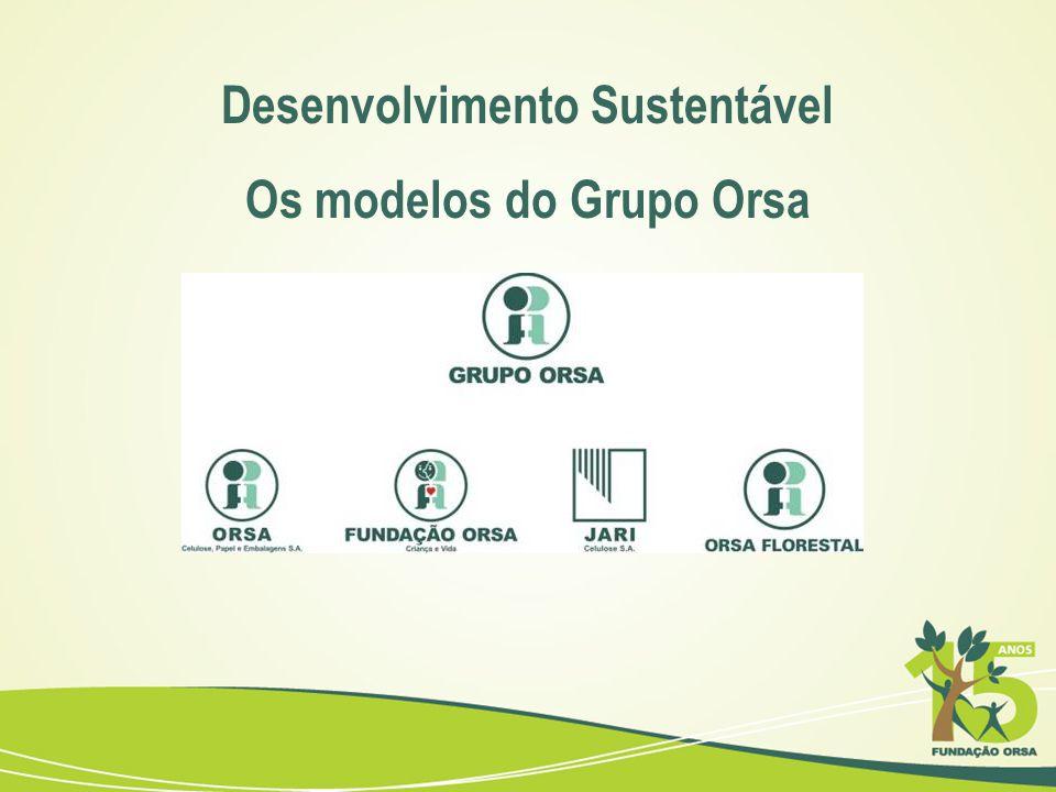 Desenvolvimento Sustentável Os modelos do Grupo Orsa
