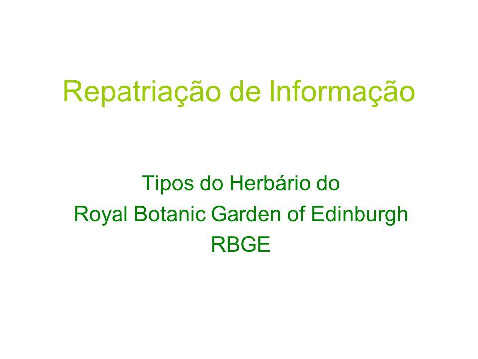Repatriação de Informação