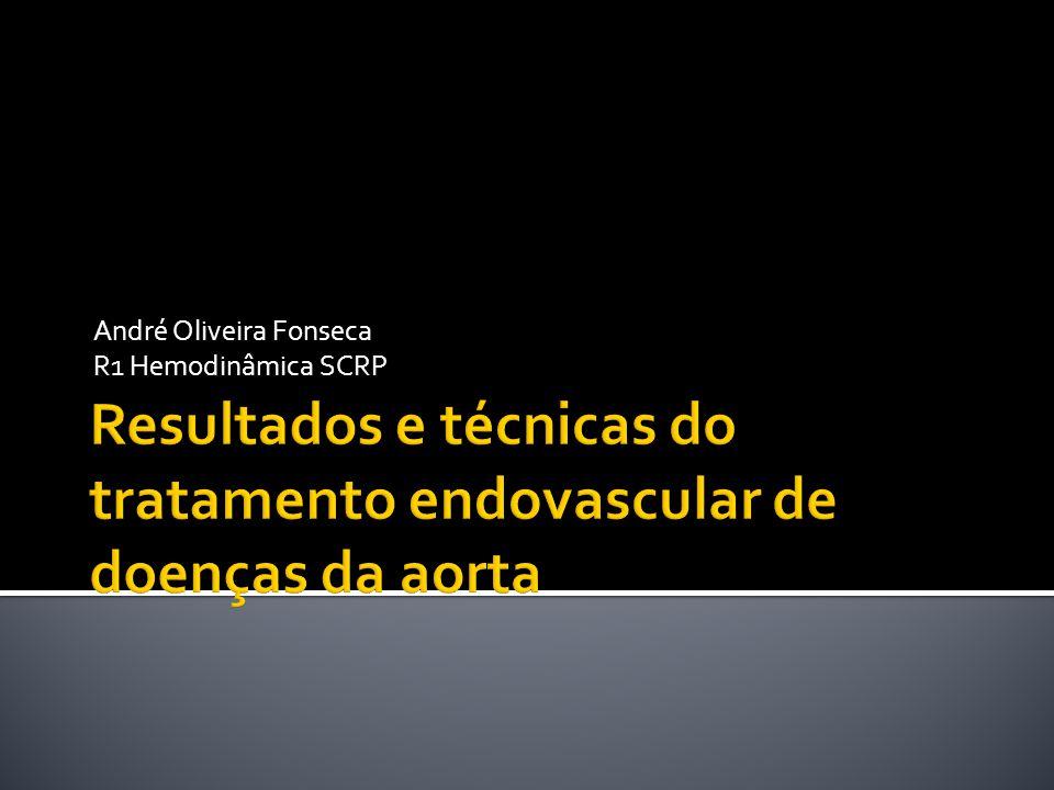 Resultados e técnicas do tratamento endovascular de doenças da aorta