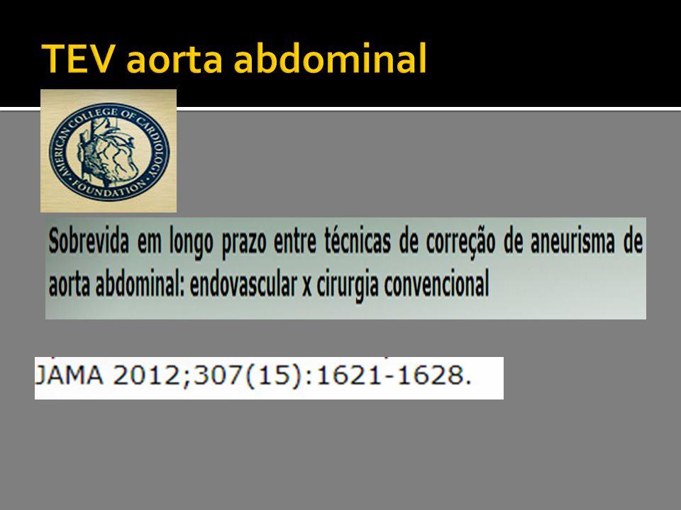 TEV aorta abdominal