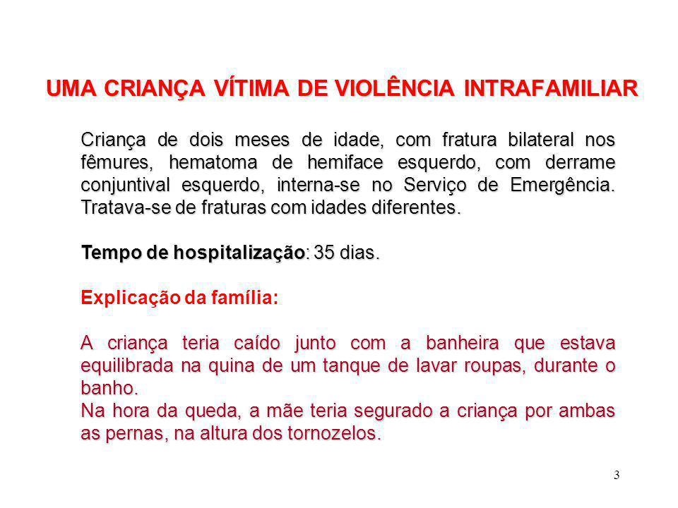 UMA CRIANÇA VÍTIMA DE VIOLÊNCIA INTRAFAMILIAR