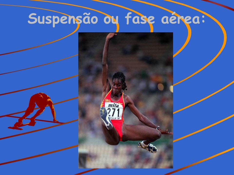 Suspensão ou fase aérea: