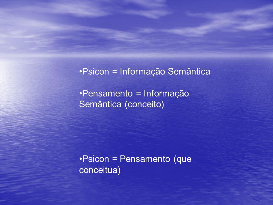 Psicon = Informação Semântica