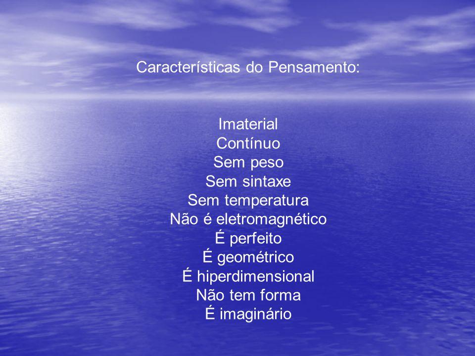 Características do Pensamento: