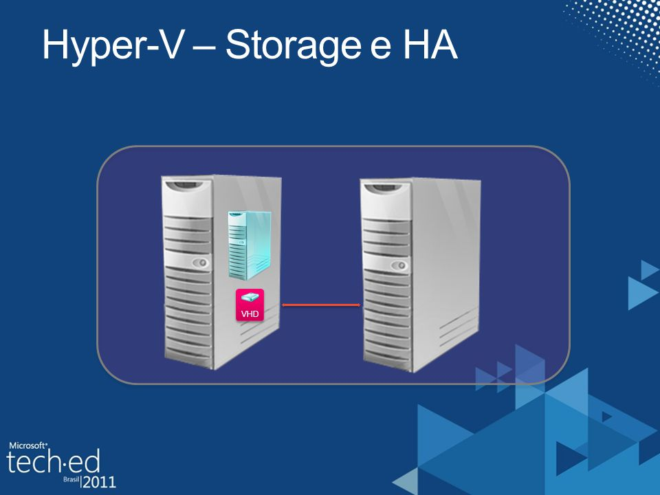 Hyper-V – Storage e HA VHD