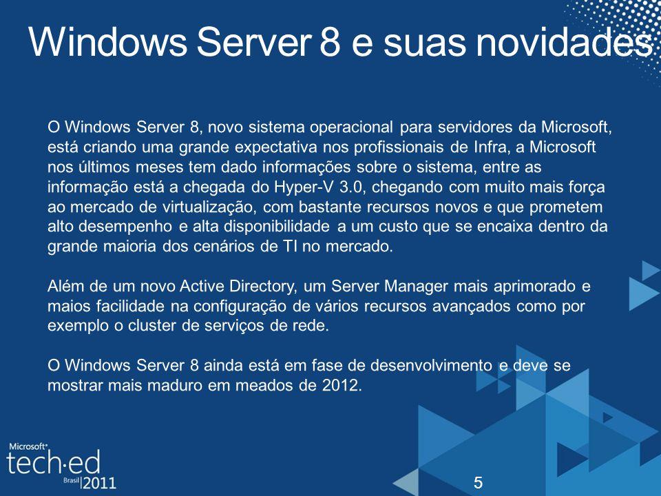 Windows Server 8 e suas novidades