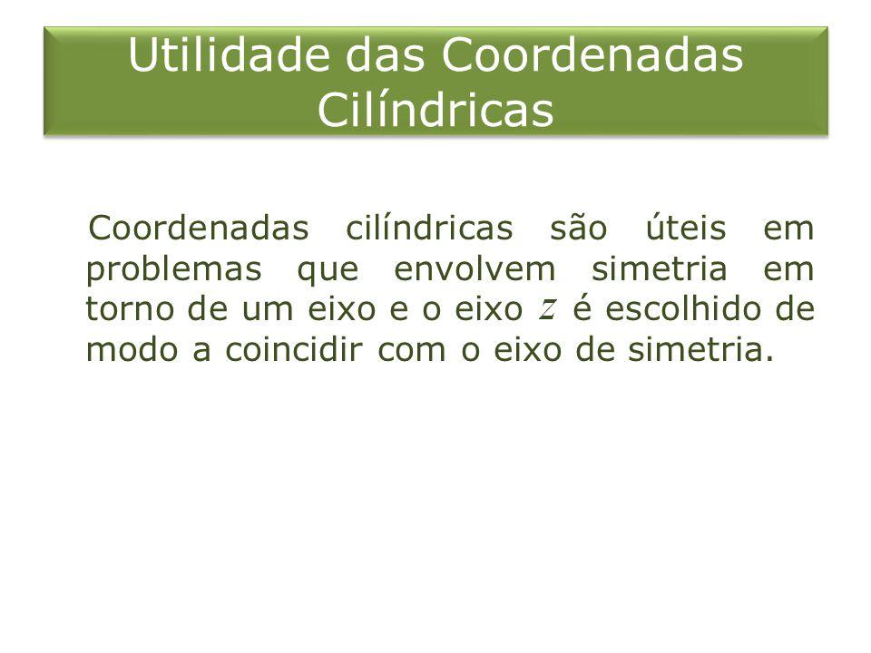 Utilidade das Coordenadas Cilíndricas