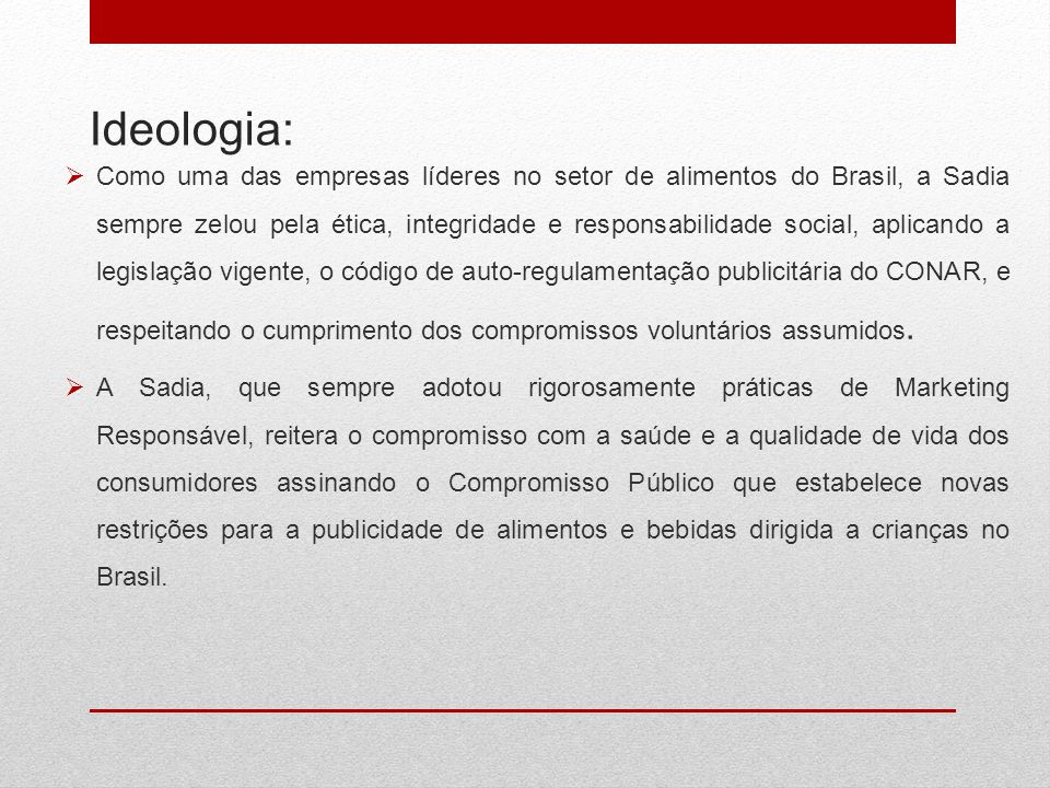 Ideologia: