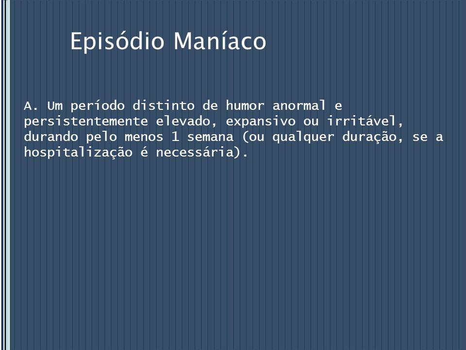 Episódio Maníaco