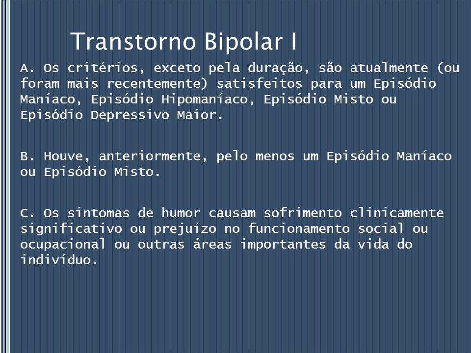 Transtorno Bipolar I