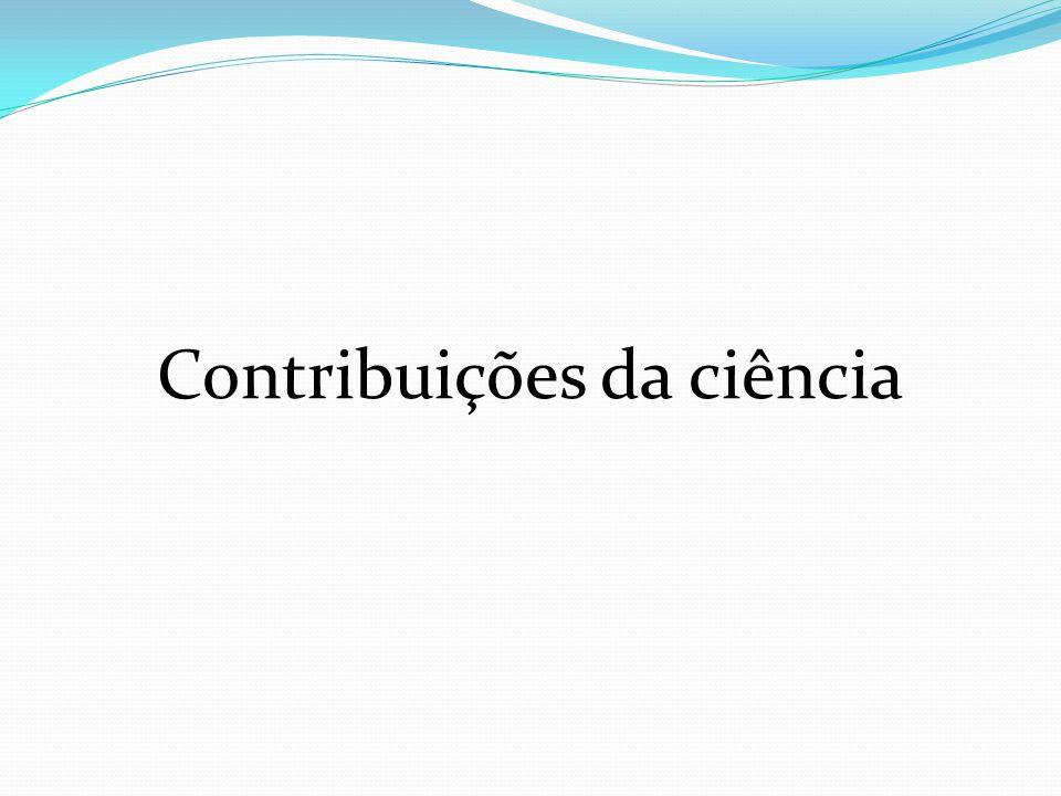 Contribuições da ciência