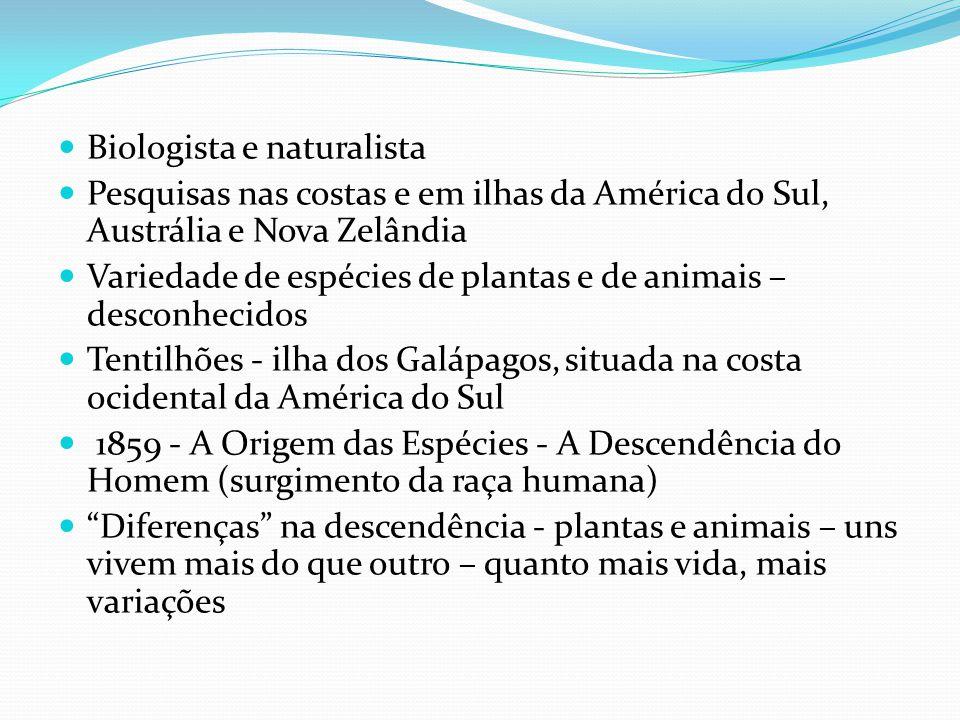 Biologista e naturalista