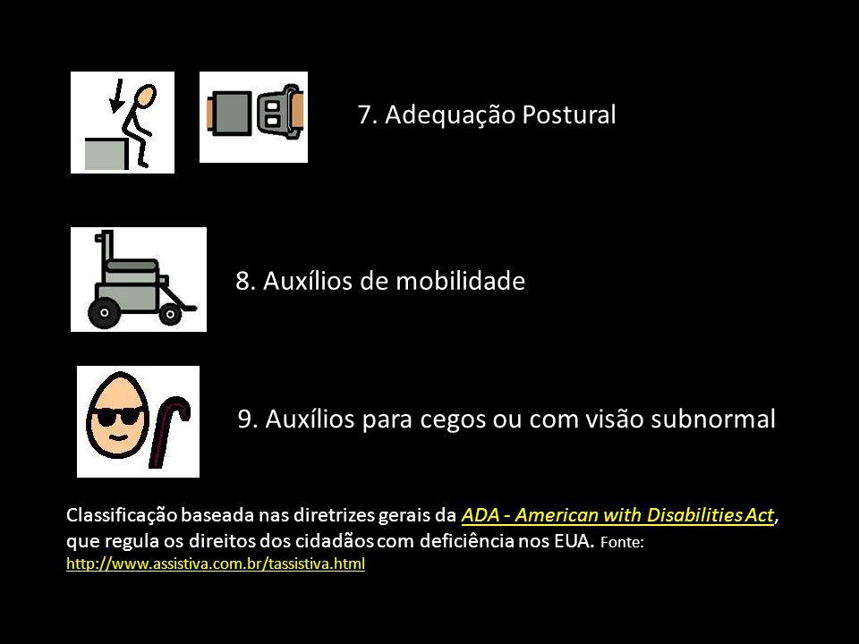 8. Auxílios de mobilidade