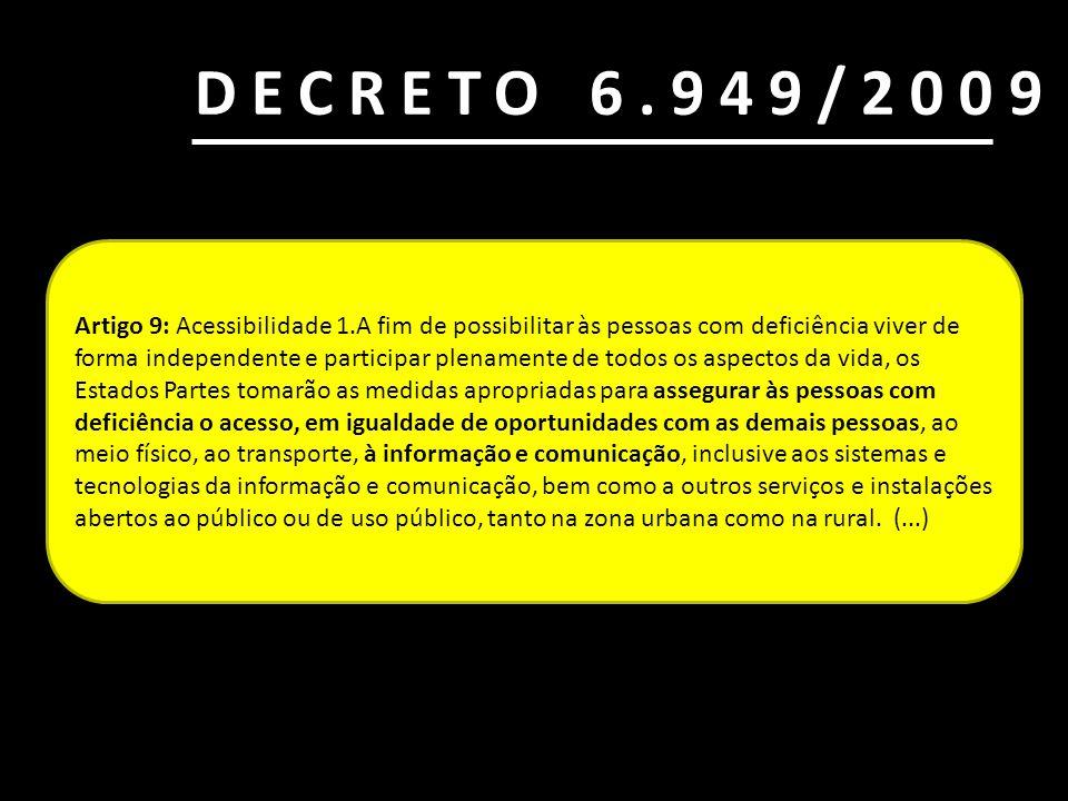 DECRETO 6.949/2009