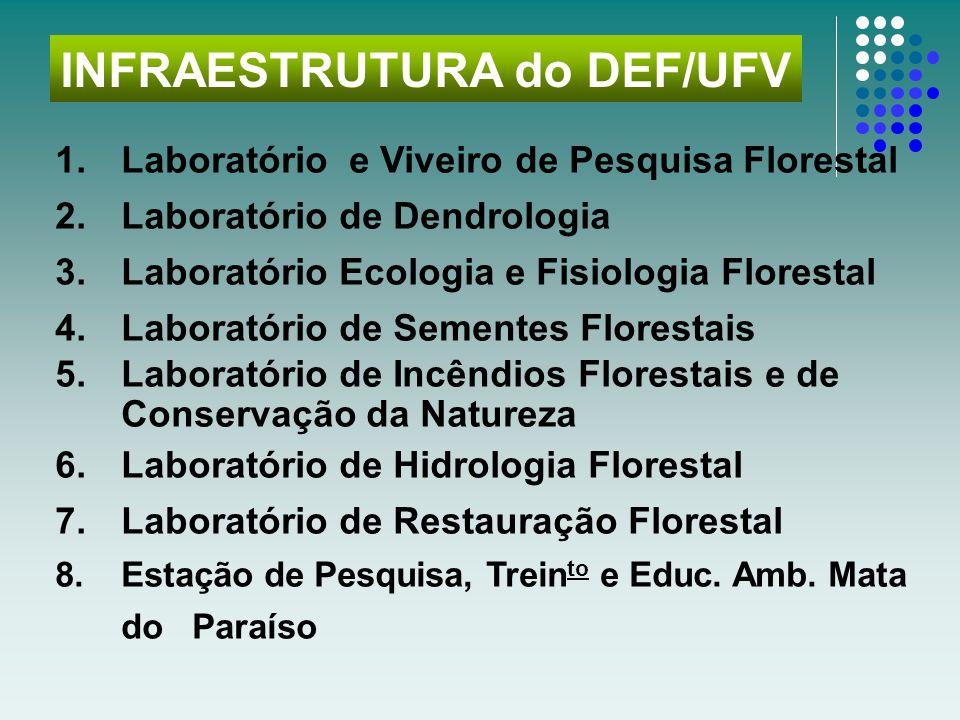 INFRAESTRUTURA do DEF/UFV