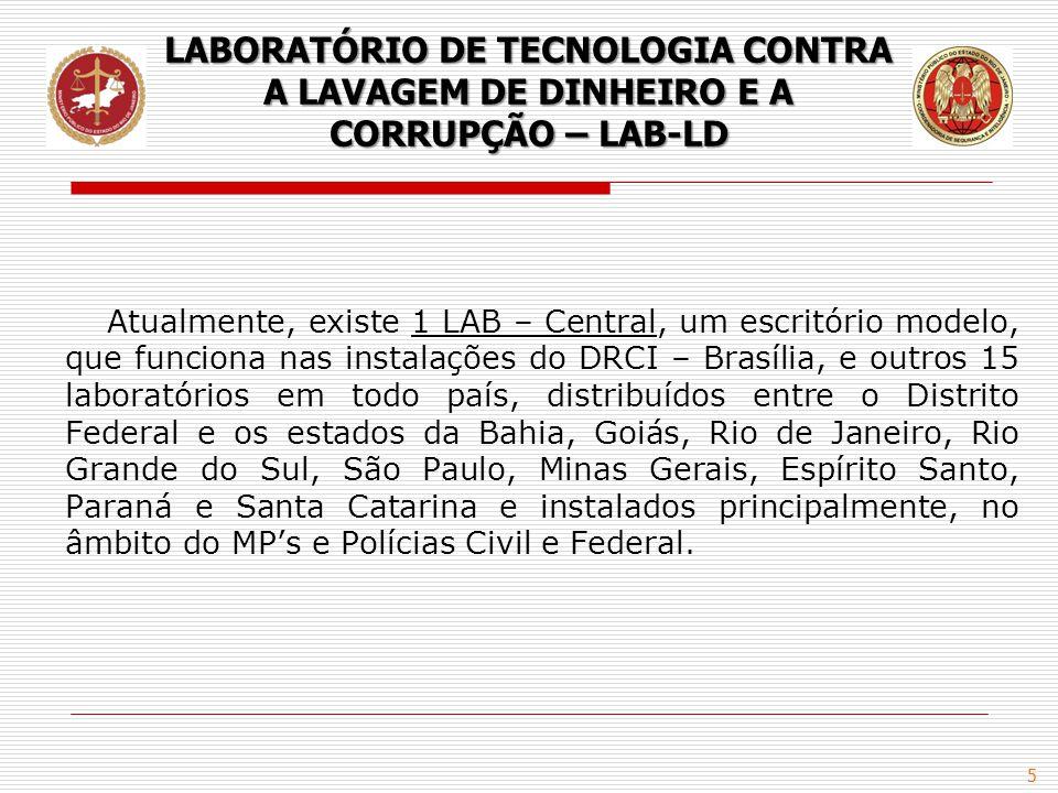 LABORATÓRIO DE TECNOLOGIA CONTRA A LAVAGEM DE DINHEIRO E A CORRUPÇÃO – LAB-LD