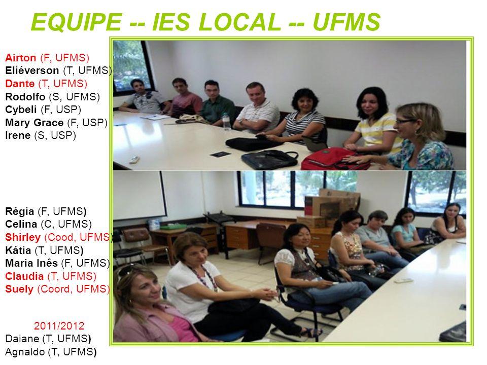 EQUIPE -- IES LOCAL -- UFMS