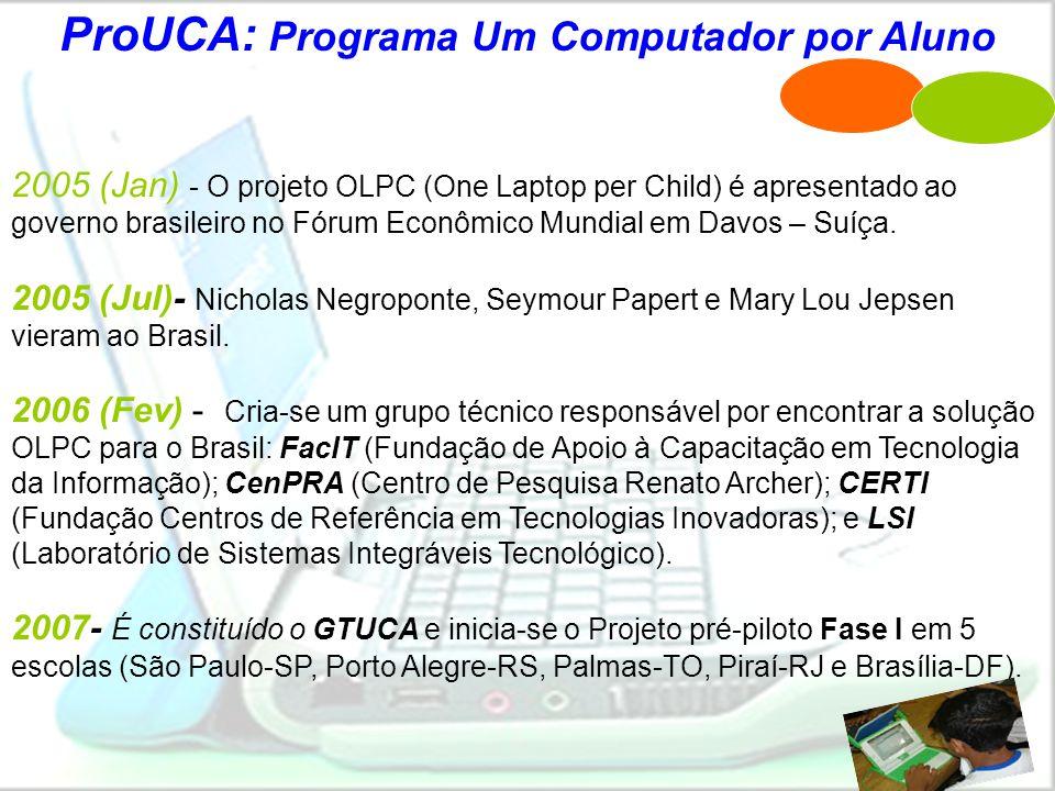 ProUCA: Programa Um Computador por Aluno