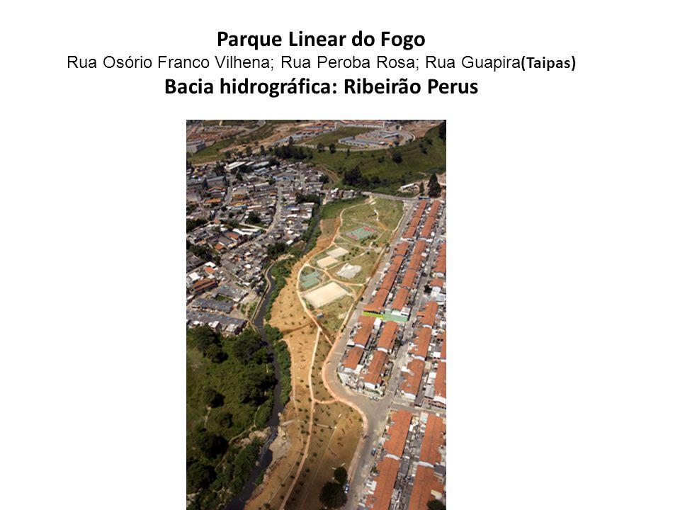 Bacia hidrográfica: Ribeirão Perus